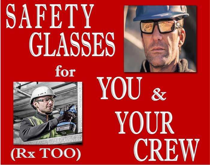 Posterboard for Safety Glasses 1